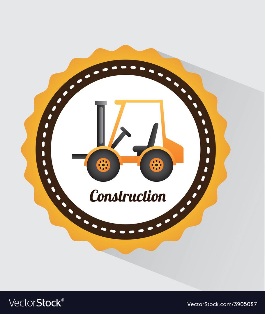 Construction design vector | Price: 3 Credit (USD $3)