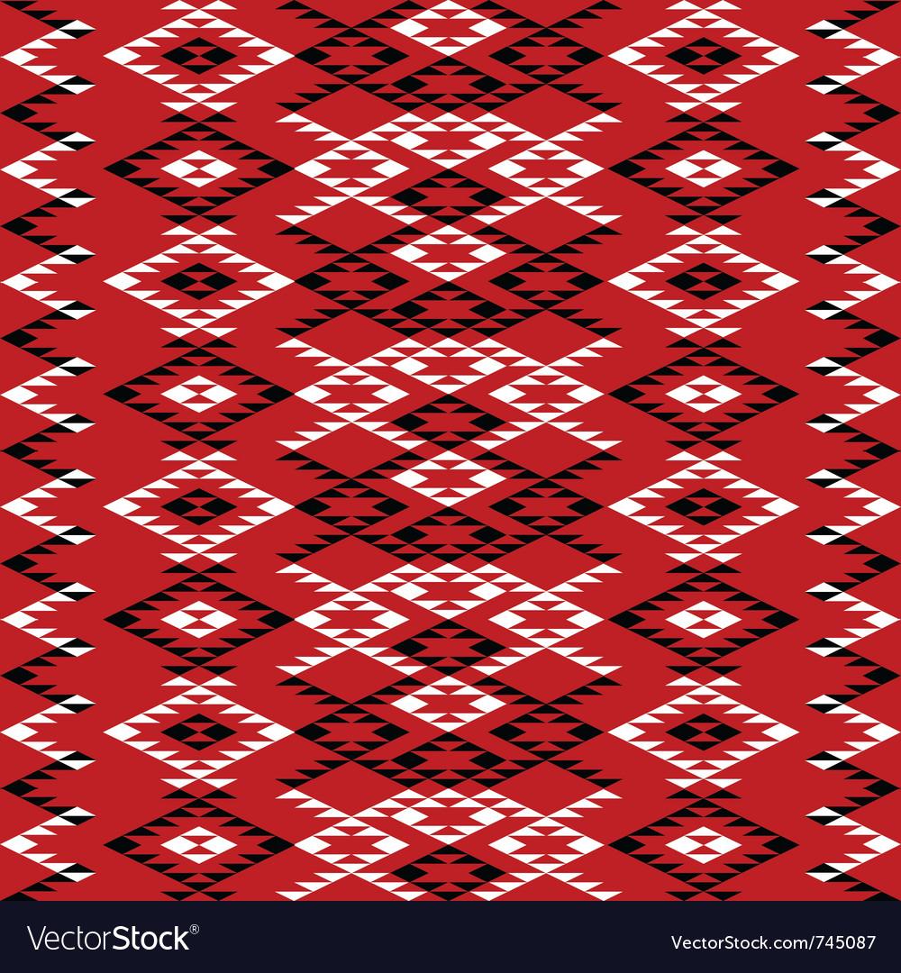 Ethnic texture design vector | Price: 1 Credit (USD $1)