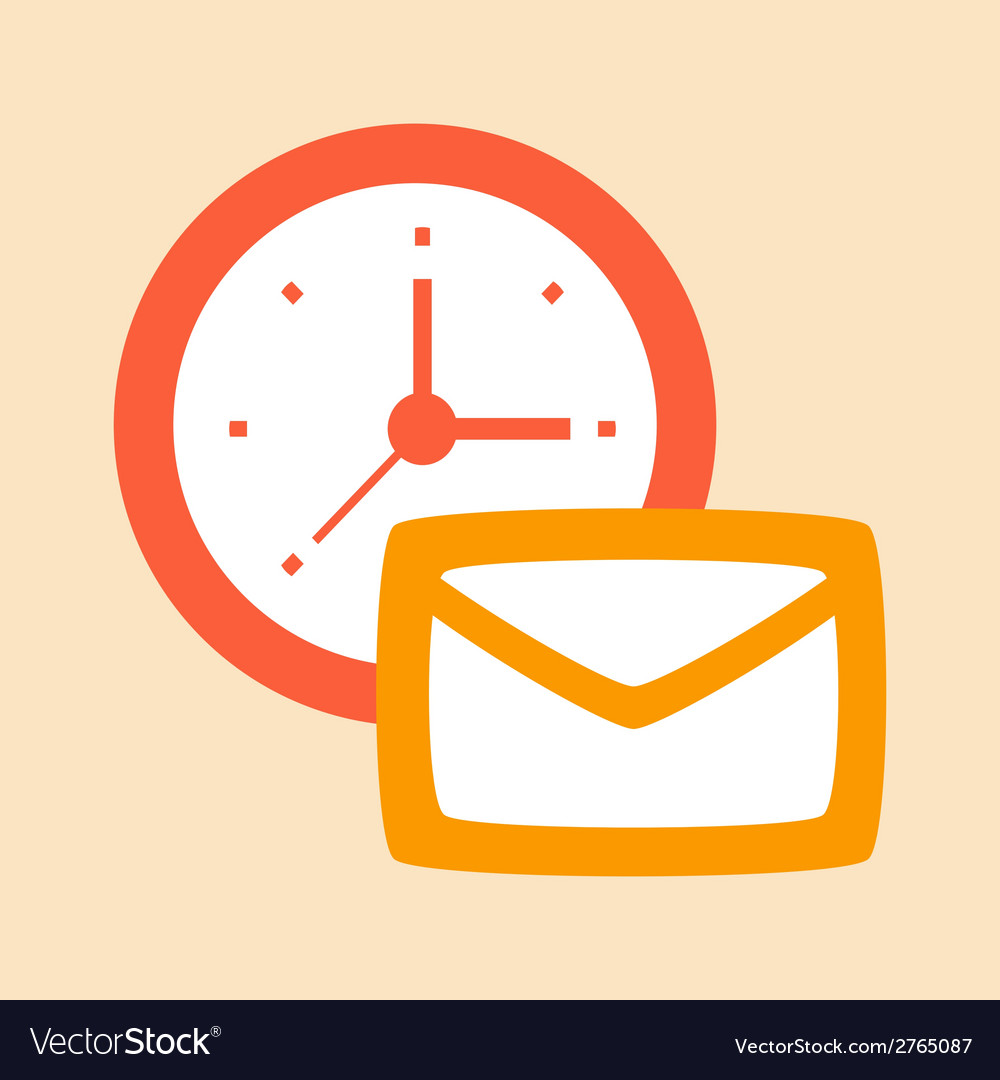 Time correspondence and letters vector | Price: 1 Credit (USD $1)