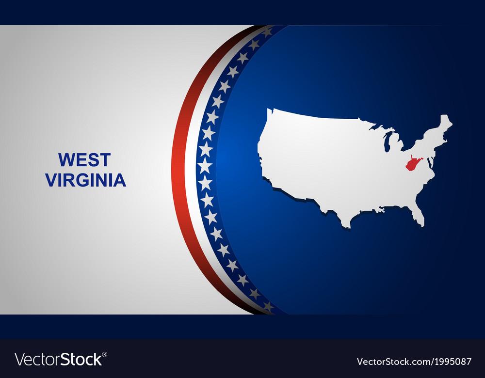 West virginia vector   Price: 1 Credit (USD $1)