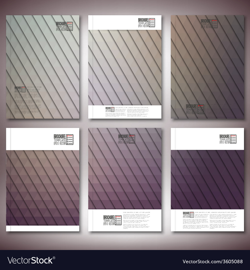 Abstract background triangle design  brochure vector | Price: 1 Credit (USD $1)