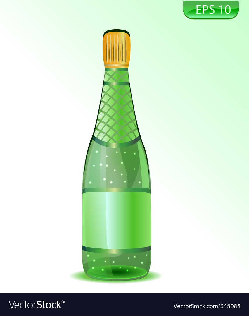 Champagne icon vector | Price: 1 Credit (USD $1)