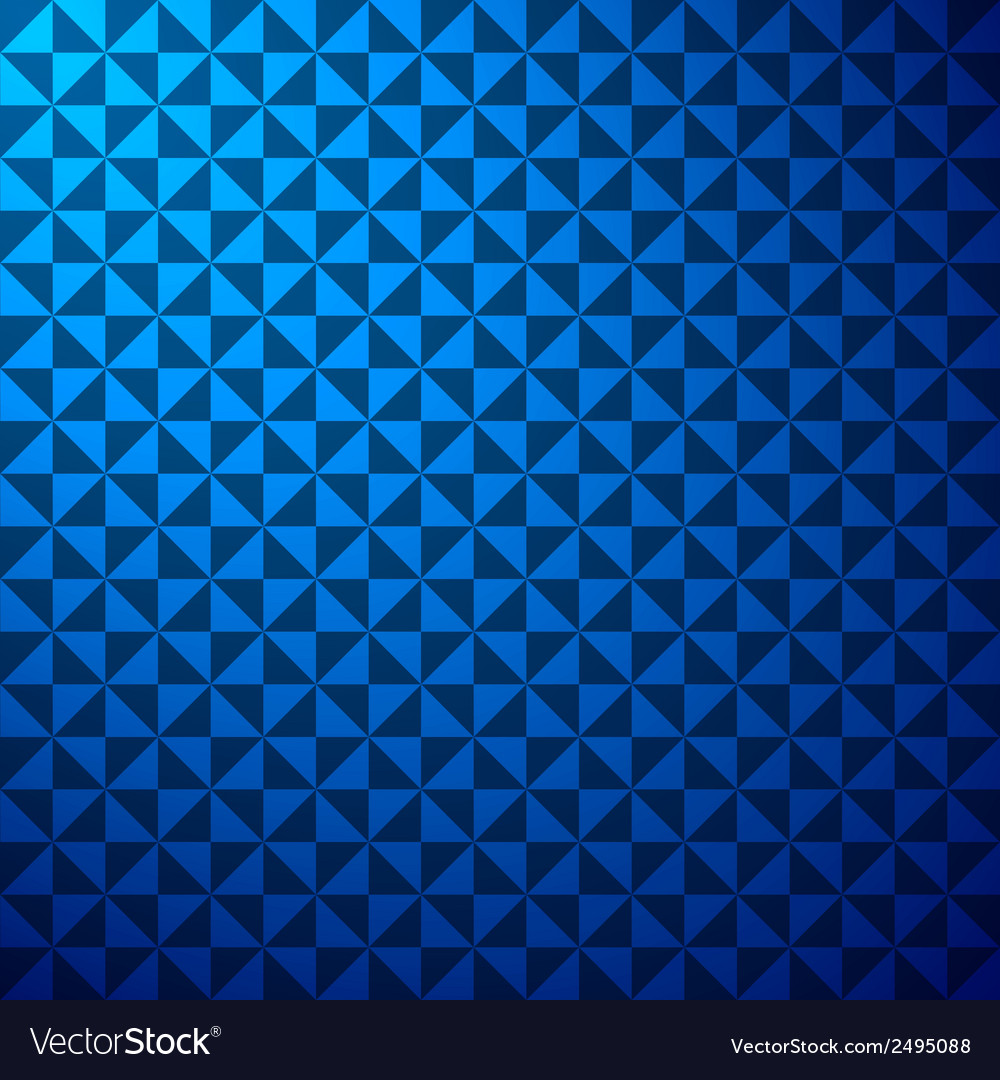 Creative triangle pattern in blue background stock vector | Price: 1 Credit (USD $1)