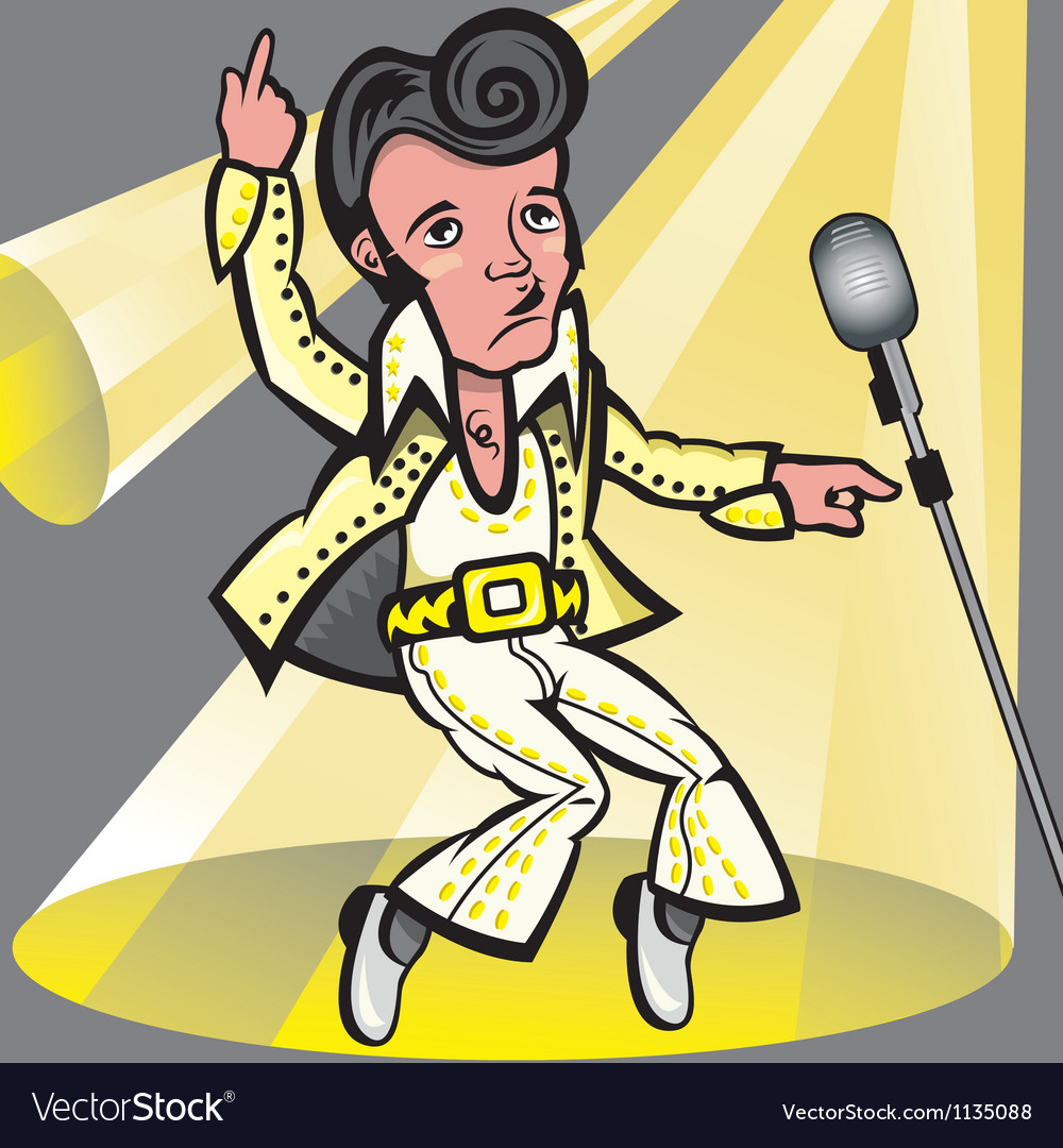 Elvis presley vector | Price: 1 Credit (USD $1)