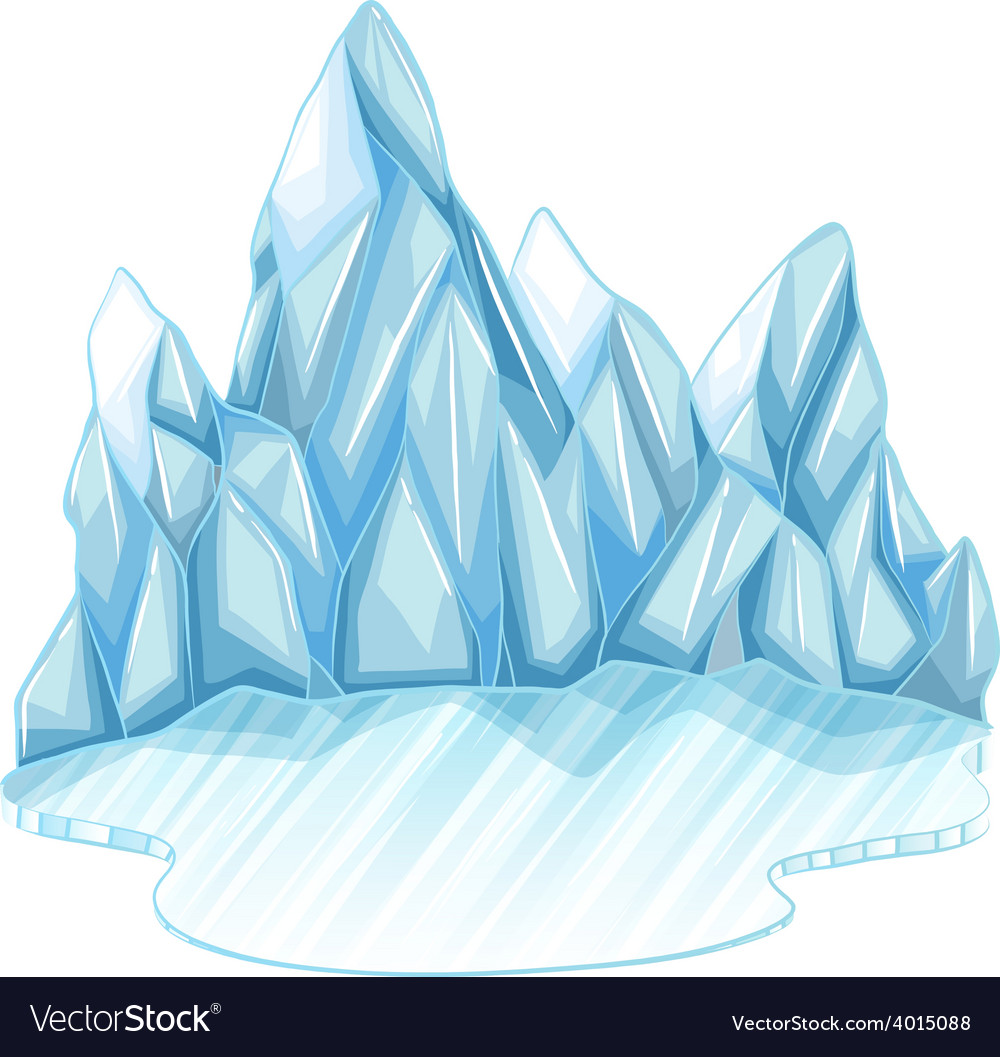 Frozen ice vector | Price: 1 Credit (USD $1)
