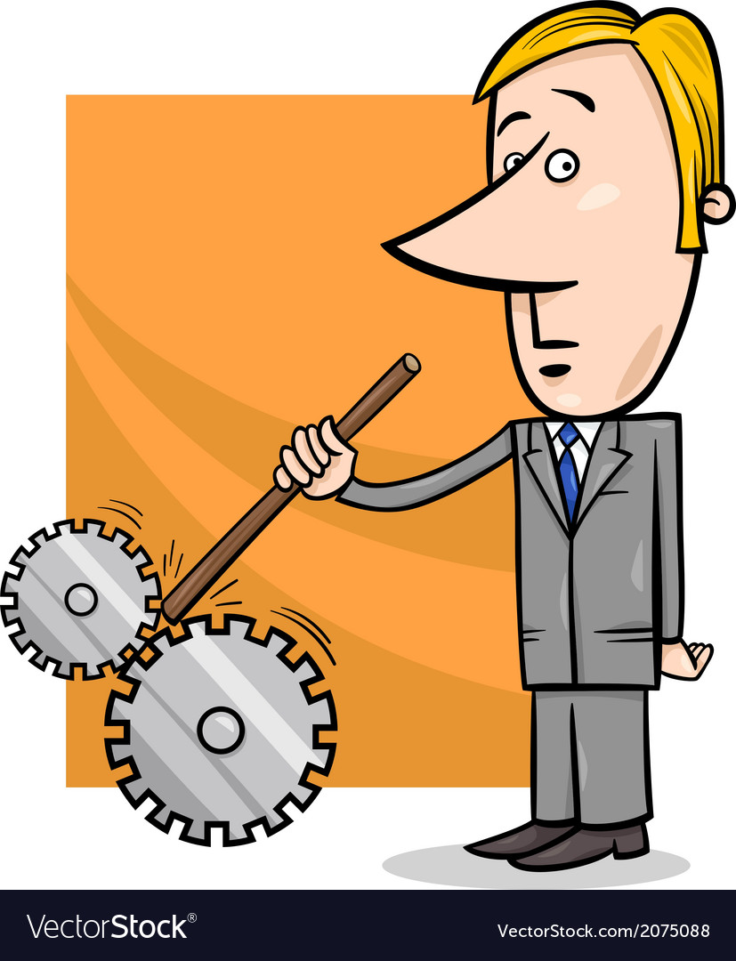 Saboteur businessman cartoon vector   Price: 1 Credit (USD $1)