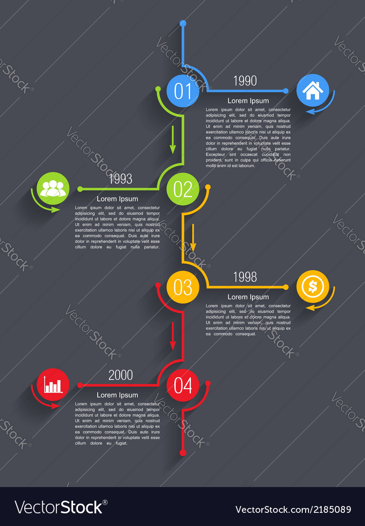 Timeline infographics design vector | Price: 1 Credit (USD $1)