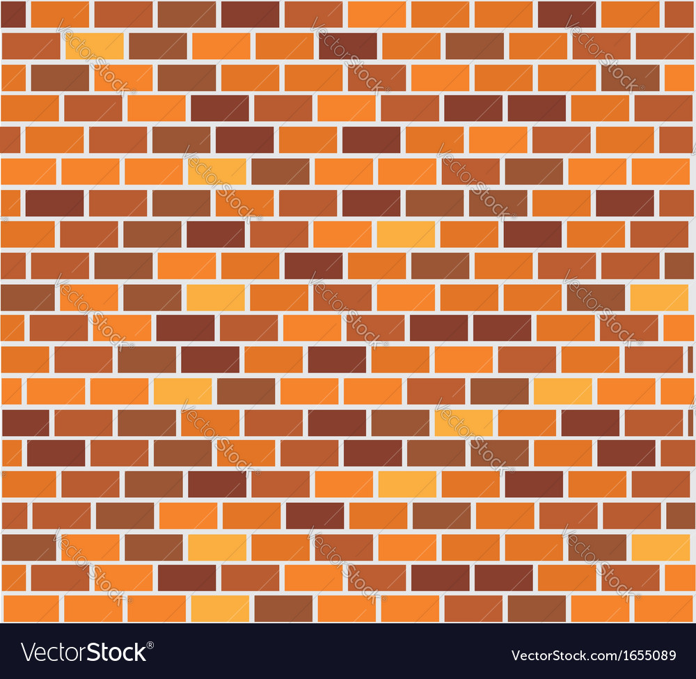 Wall of capacity brick vector | Price: 1 Credit (USD $1)