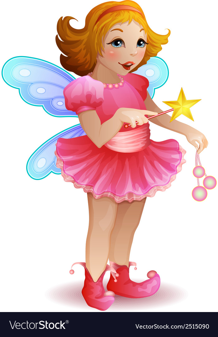 Funny fairy vector | Price: 1 Credit (USD $1)
