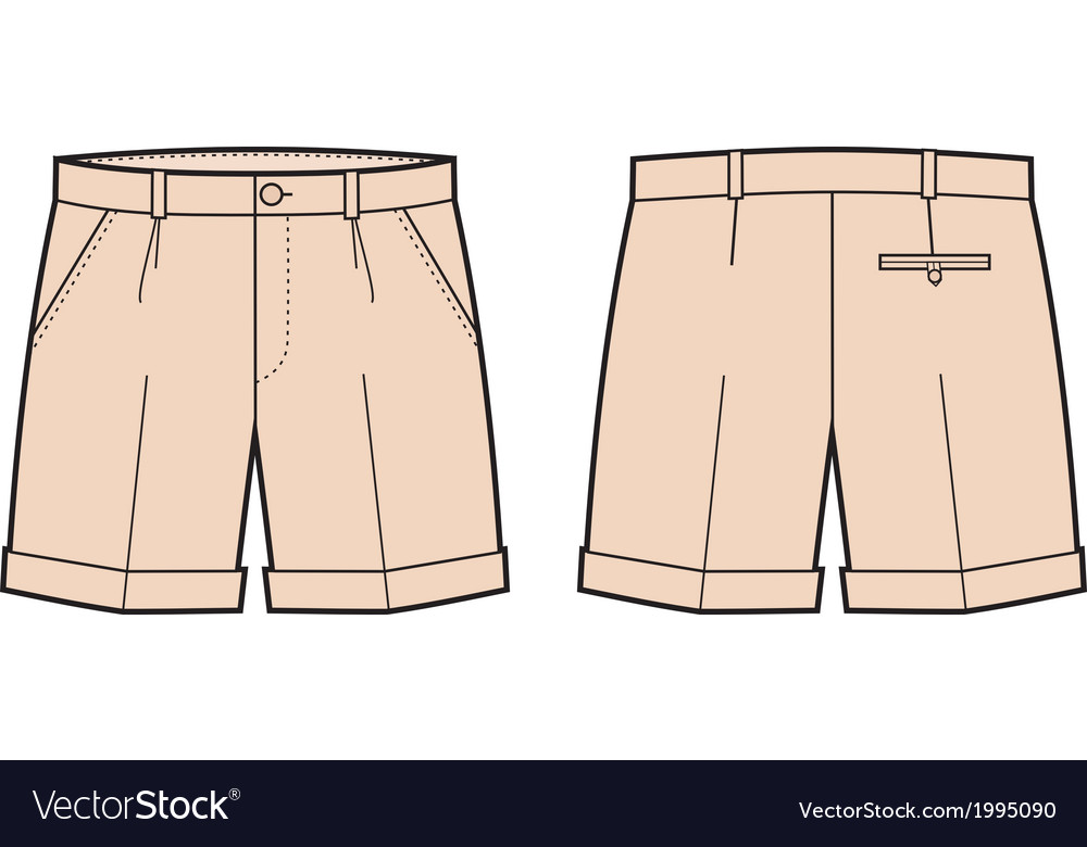 Shorts vector | Price: 1 Credit (USD $1)