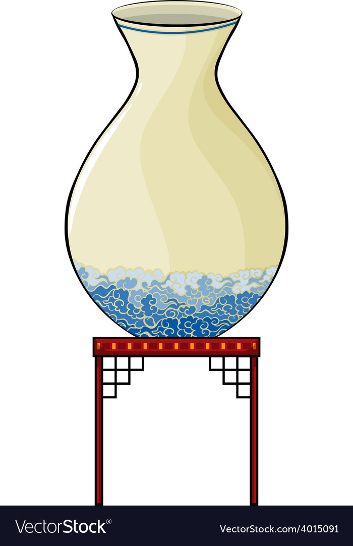 Big vase at the china store vector   Price: 3 Credit (USD $3)