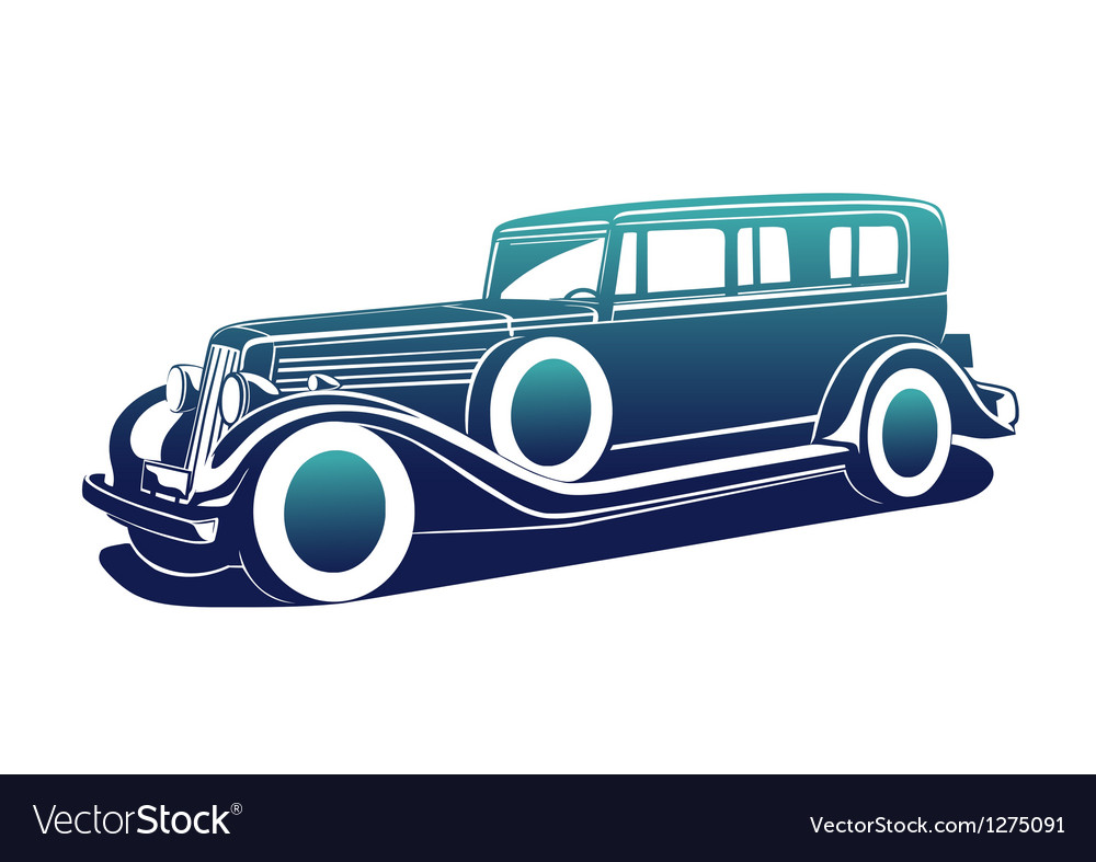 Classic automobile vector | Price: 1 Credit (USD $1)