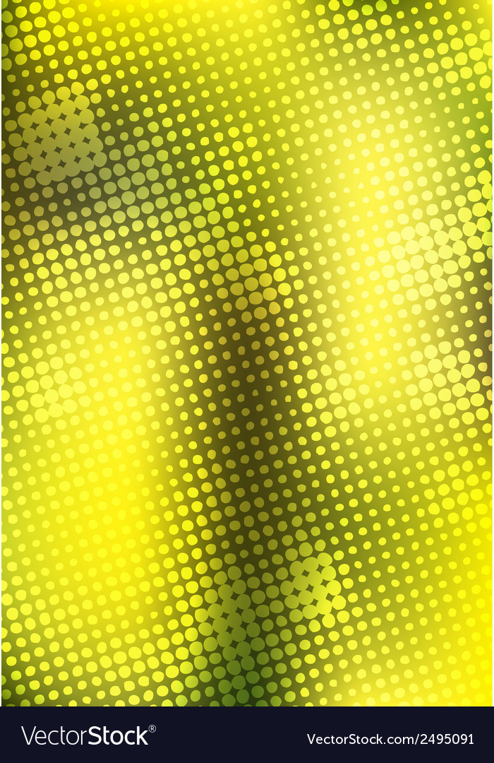 Creative yellow halftone background vector | Price: 1 Credit (USD $1)