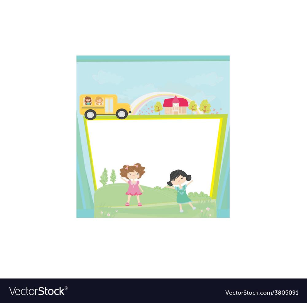 Cute back to school vector | Price: 1 Credit (USD $1)