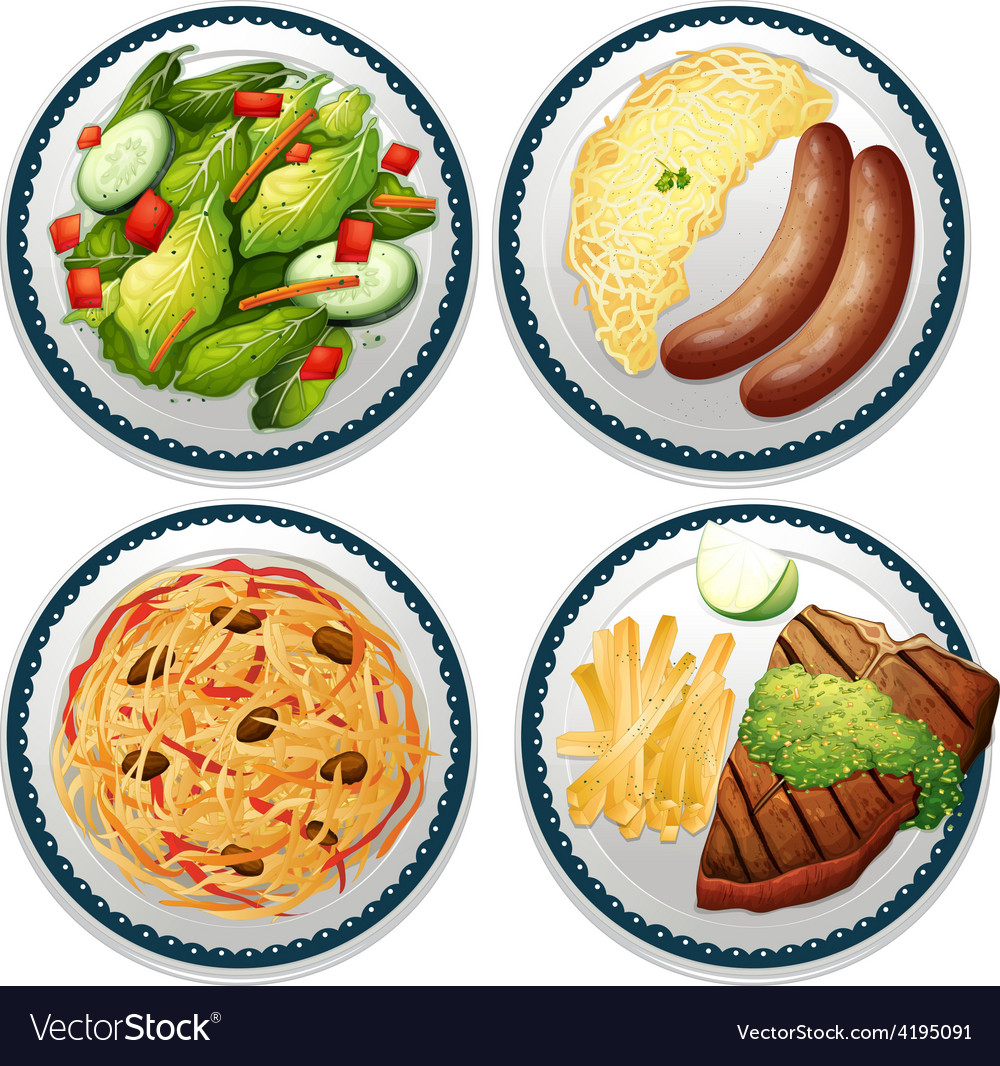 Meal vector | Price: 3 Credit (USD $3)