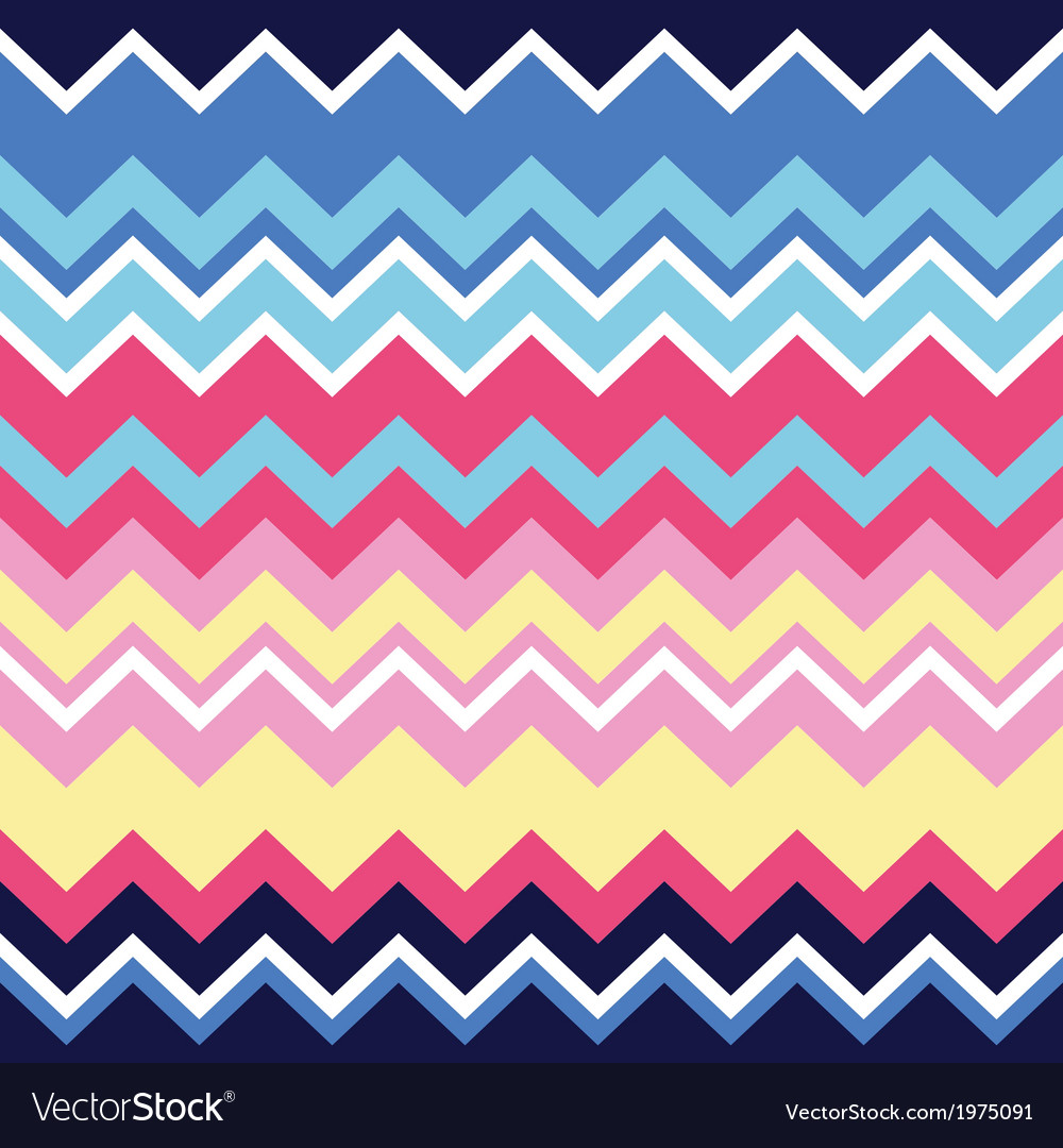 Tribal aztec zigzag seamless pattern print vector | Price: 1 Credit (USD $1)