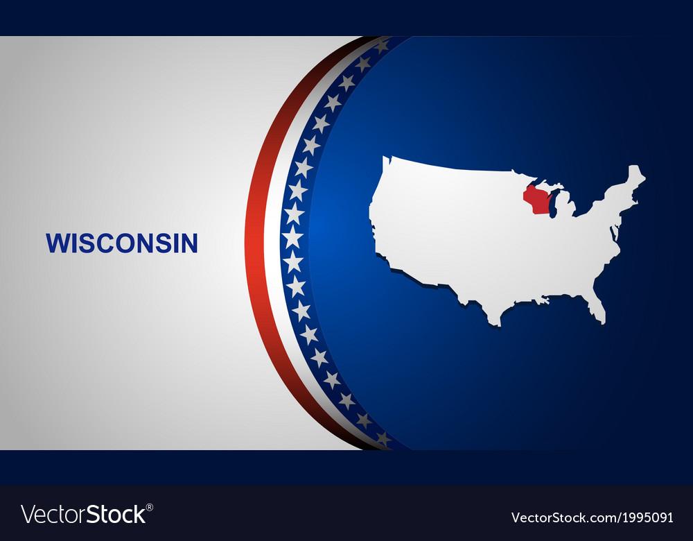 Wisconsin vector | Price: 1 Credit (USD $1)