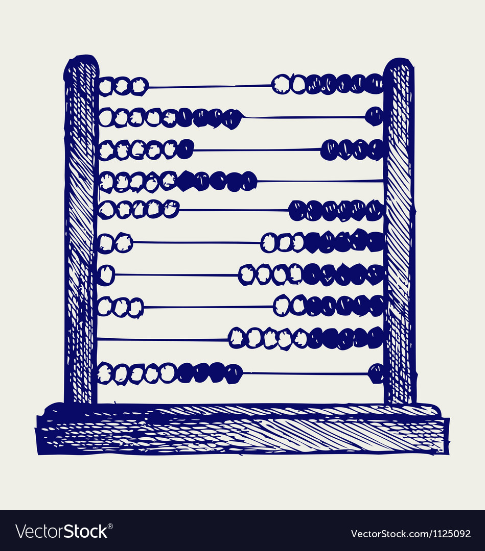 Abacus vector | Price: 1 Credit (USD $1)