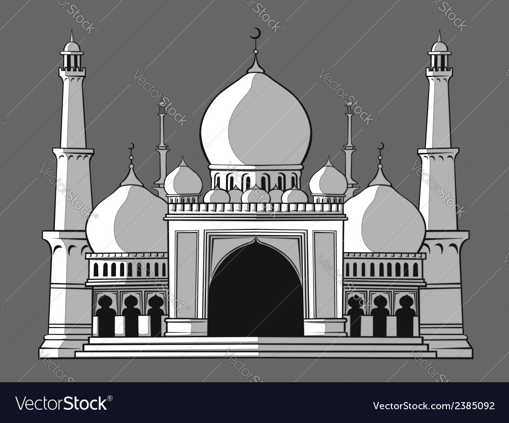 Masjid vector | Price: 1 Credit (USD $1)