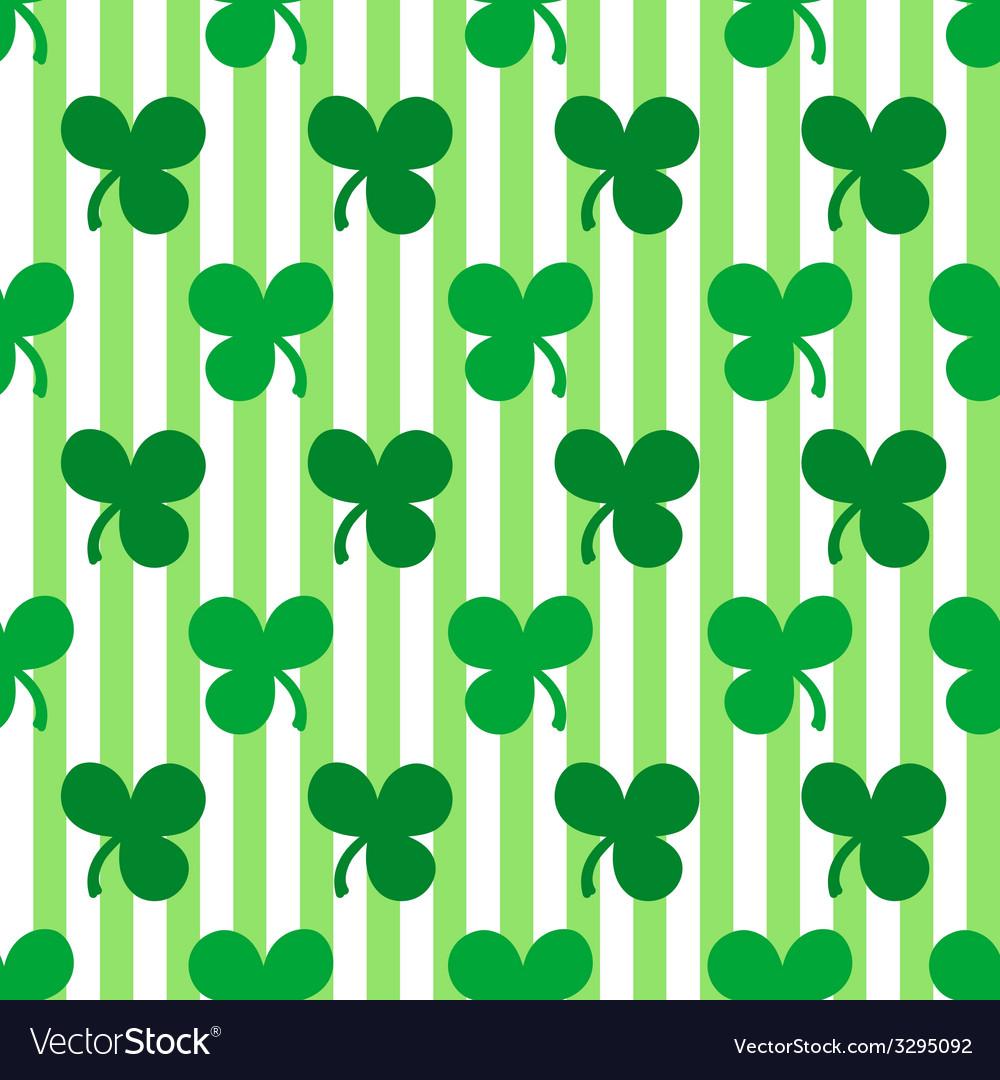 St patricks day seamless pattern vector | Price: 1 Credit (USD $1)