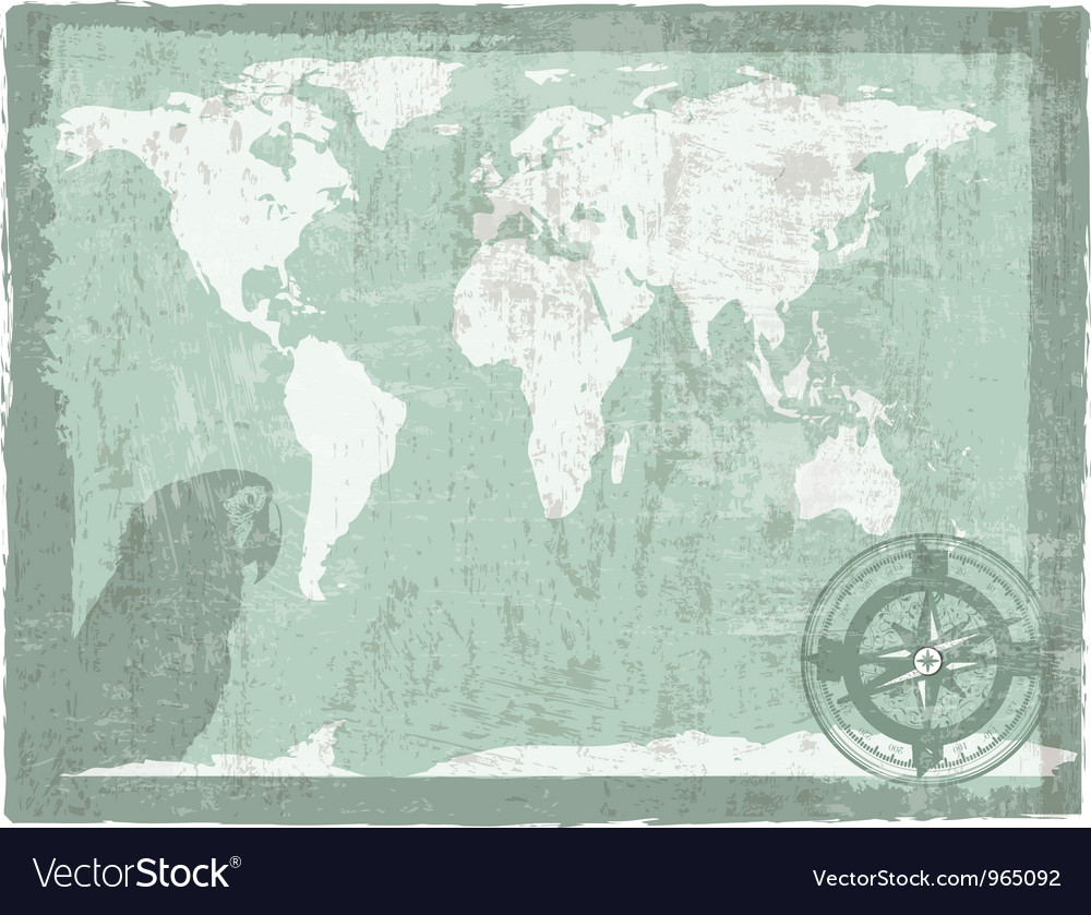 Travel vintage background vector | Price: 1 Credit (USD $1)