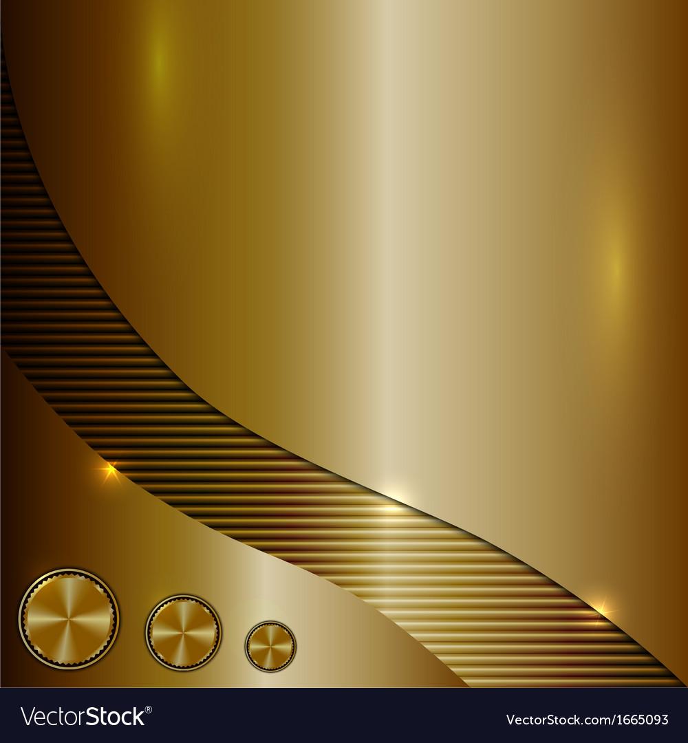 Bronze metallic background vector | Price: 1 Credit (USD $1)