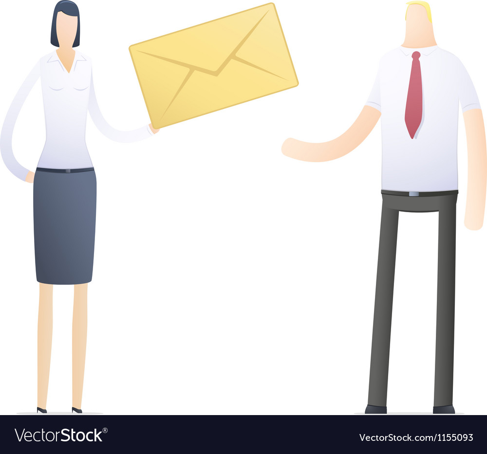 Manager sends an important message vector | Price: 1 Credit (USD $1)