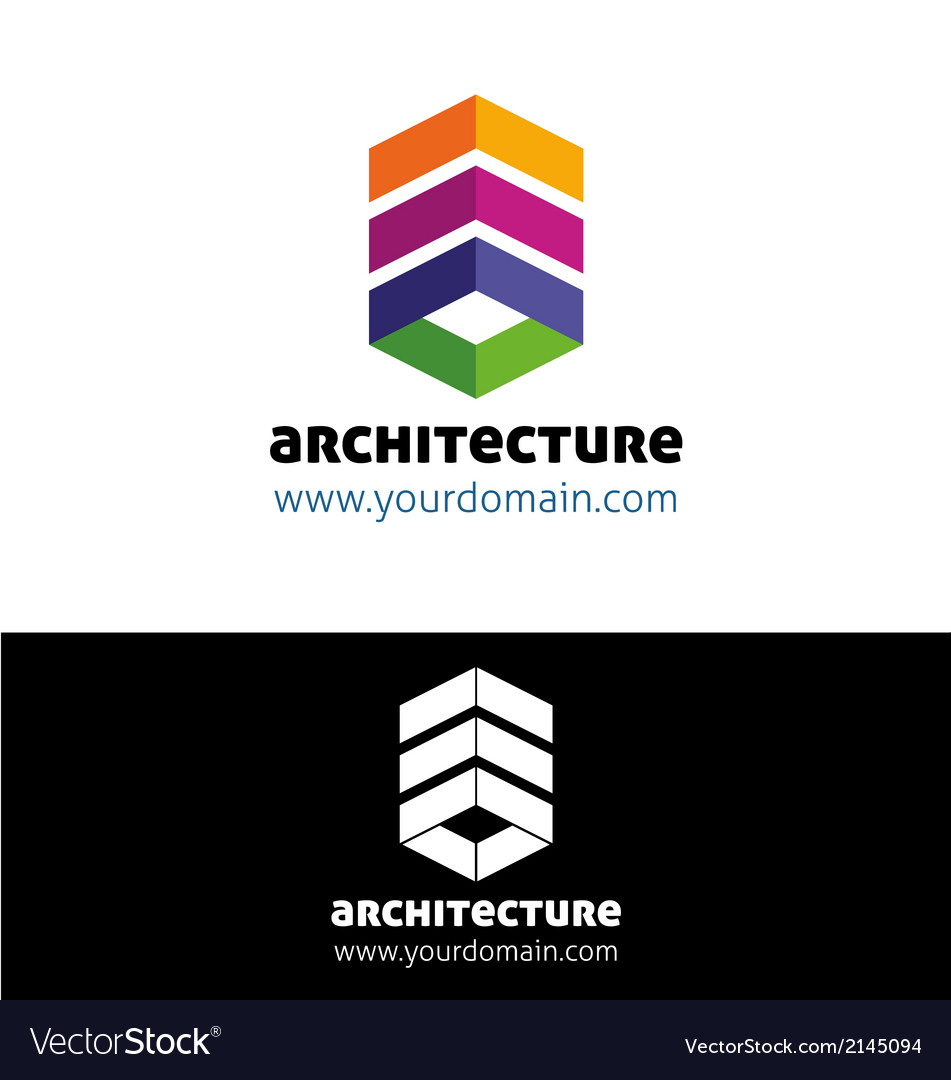Modern architecture vector | Price: 1 Credit (USD $1)