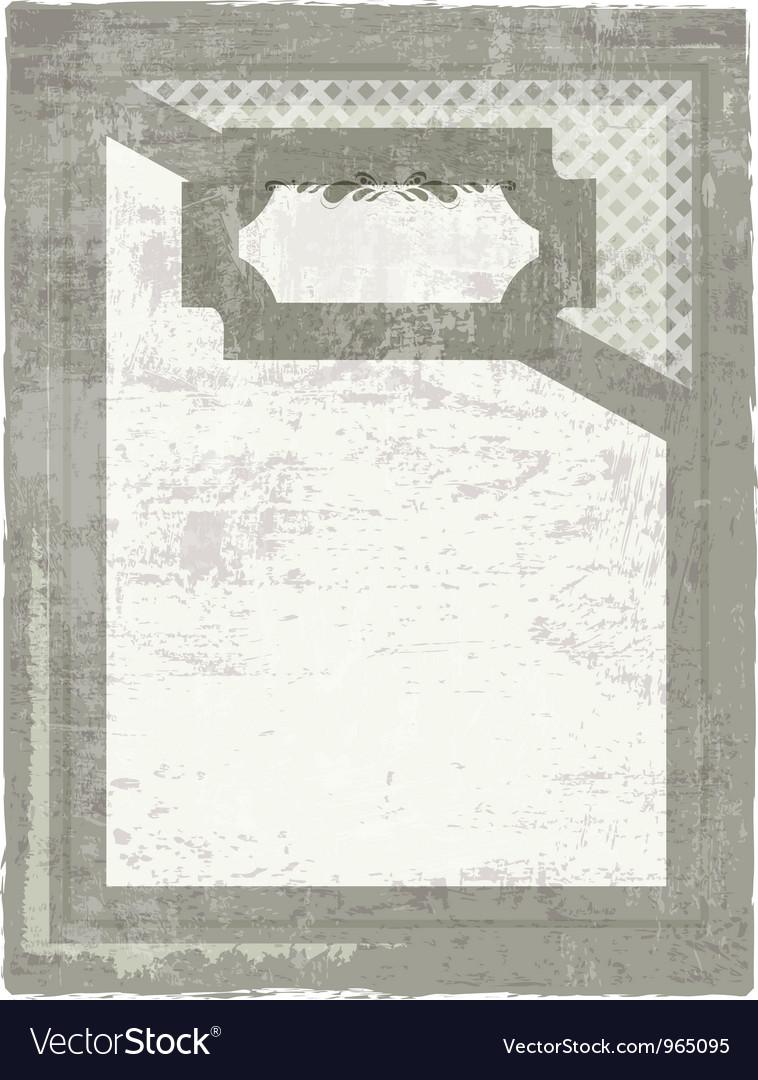 Decorative grunge background vector | Price: 1 Credit (USD $1)