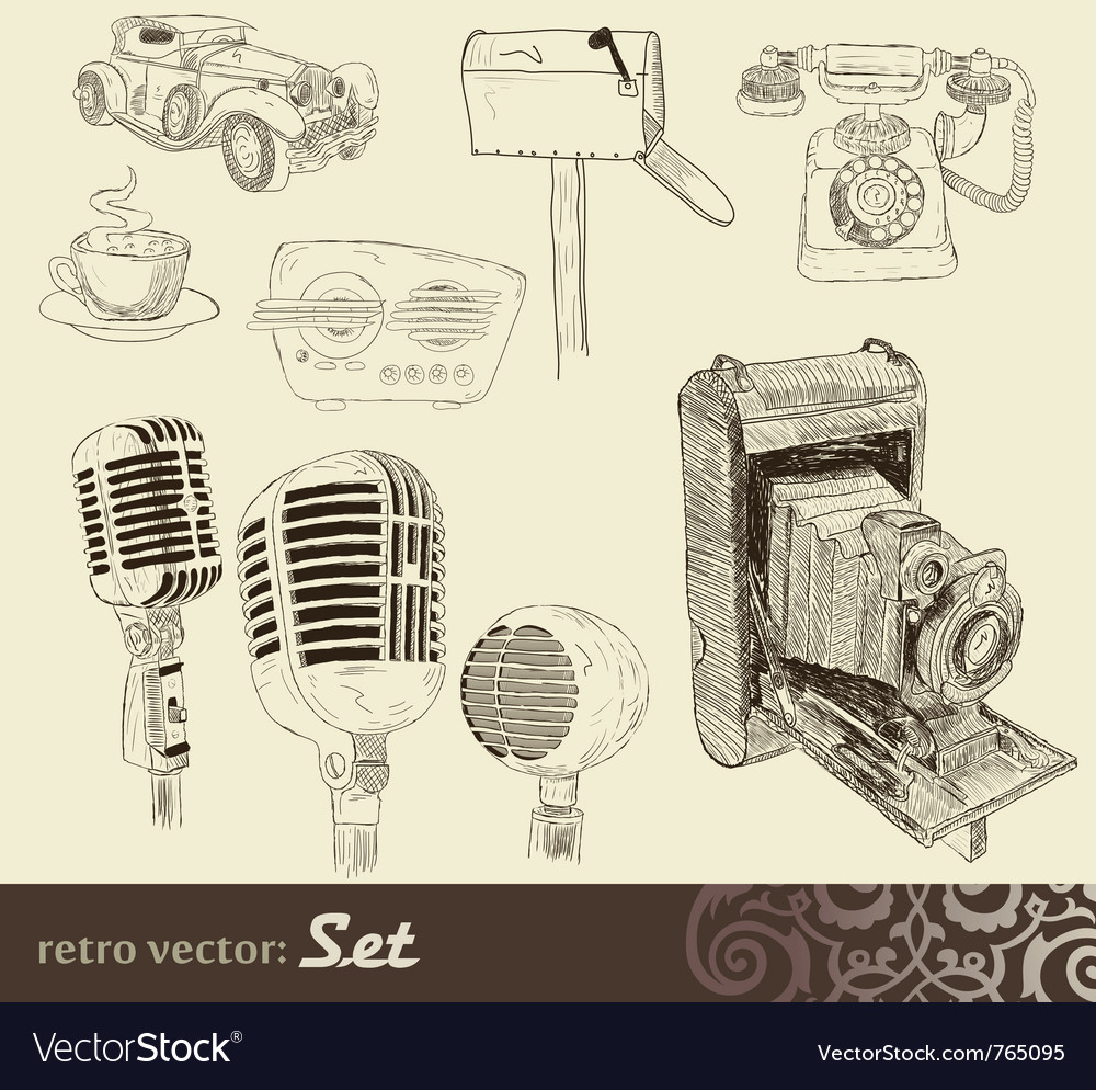 Doodles set vector | Price: 3 Credit (USD $3)