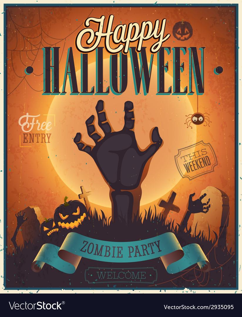 Halloween flyer2 vector | Price: 3 Credit (USD $3)