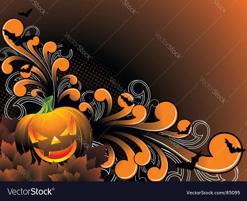 Halloween theme vector | Price: 1 Credit (USD $1)