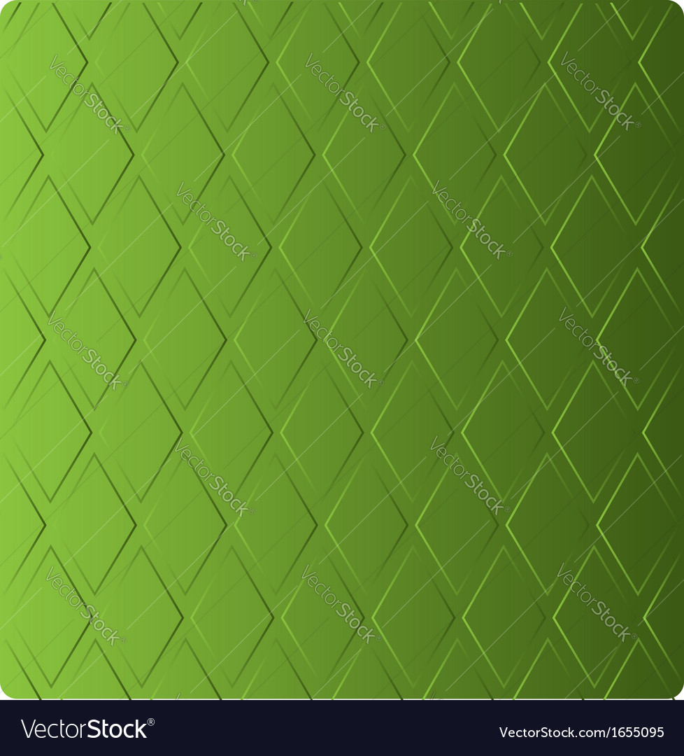 Stylish grass green background in diamond-shaped vector | Price: 1 Credit (USD $1)