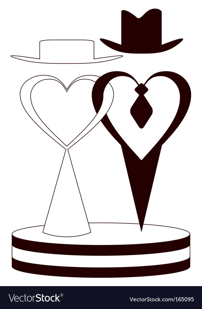 Wedding couple vector | Price: 1 Credit (USD $1)