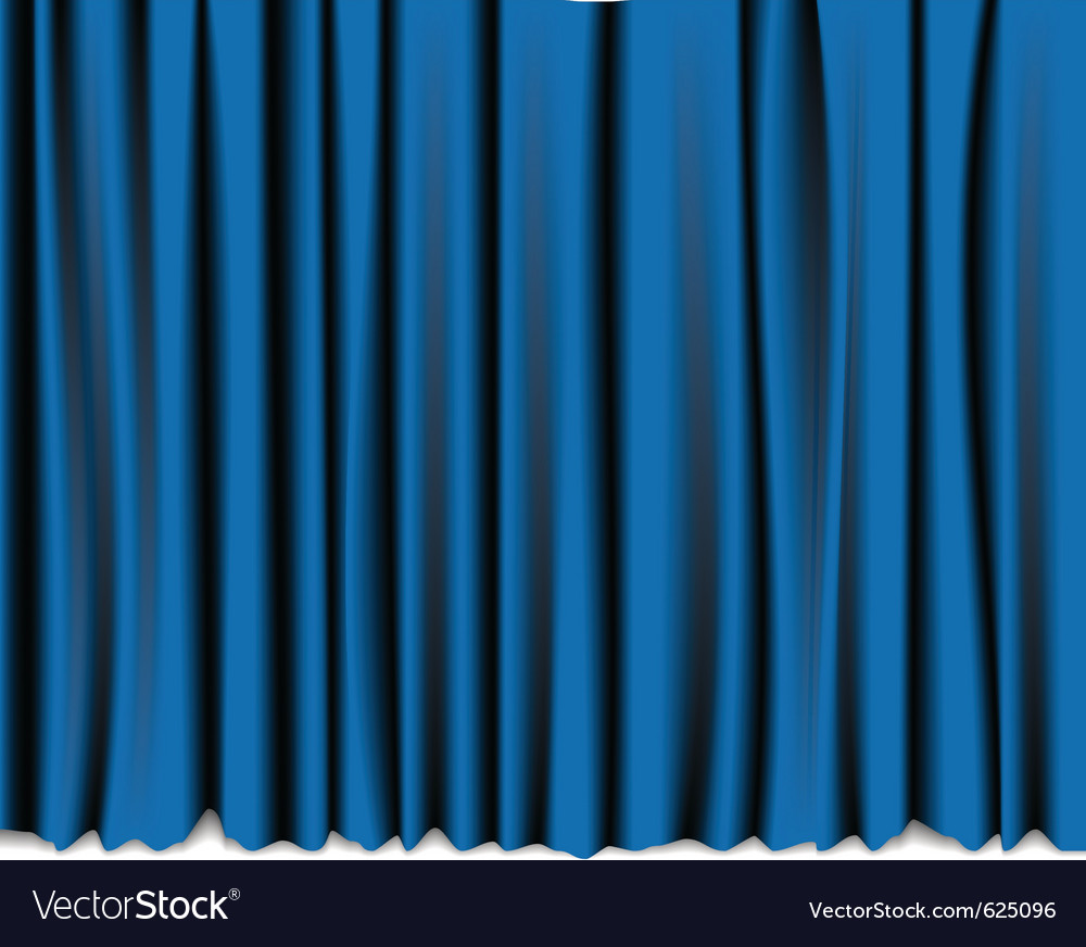 Curtain theatre vector | Price: 1 Credit (USD $1)
