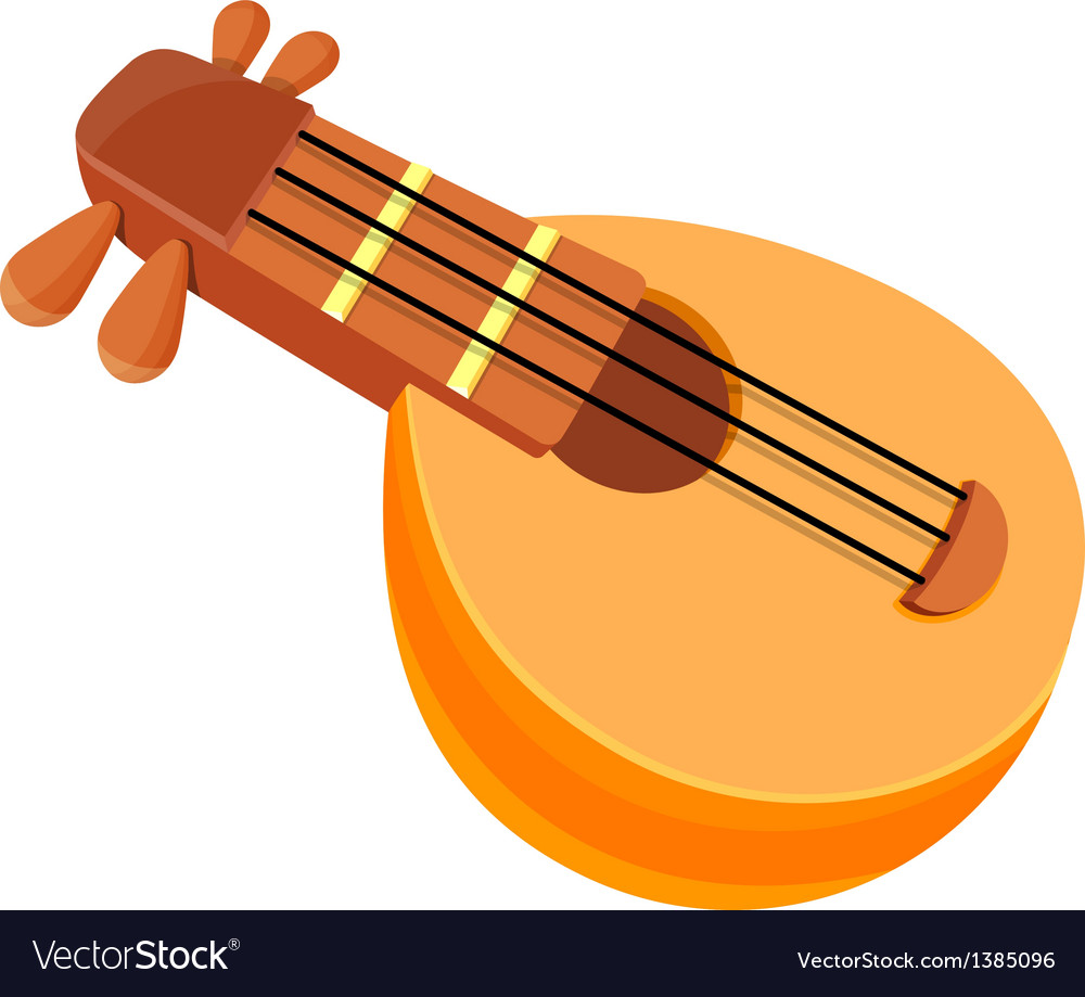 Icon string instrument vector | Price: 1 Credit (USD $1)