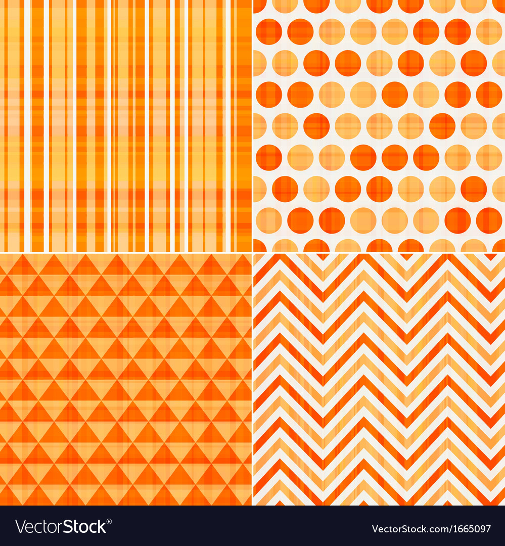 Seamless orange texture pattern background vector | Price: 1 Credit (USD $1)