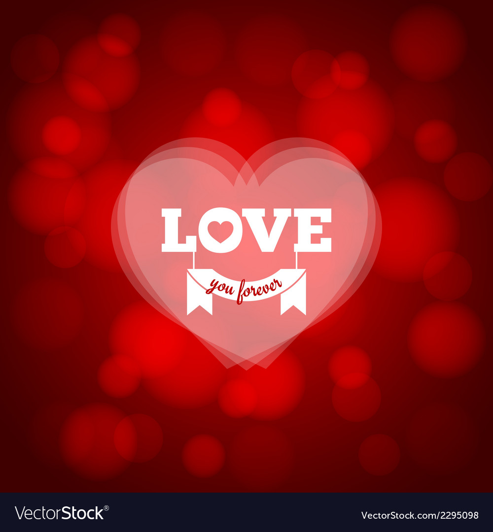 Love heart design background vector | Price: 1 Credit (USD $1)