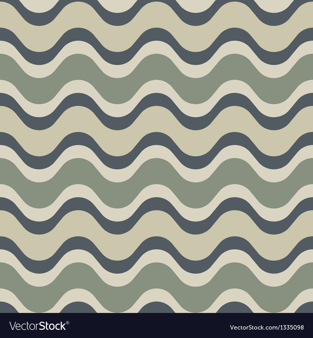 Neutral saddle wave seamless background pattern vector | Price: 1 Credit (USD $1)