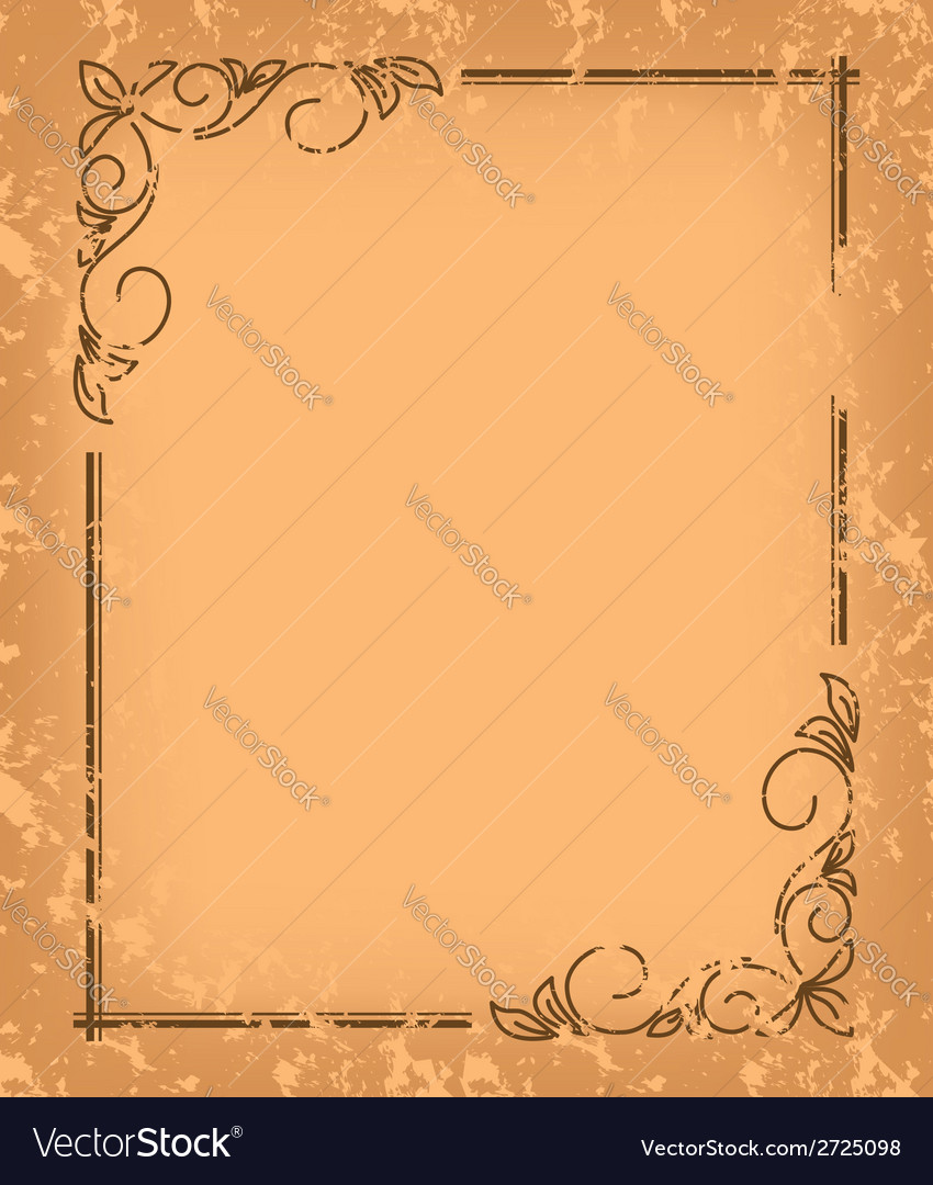 Old pattern - vintage background vector | Price: 1 Credit (USD $1)