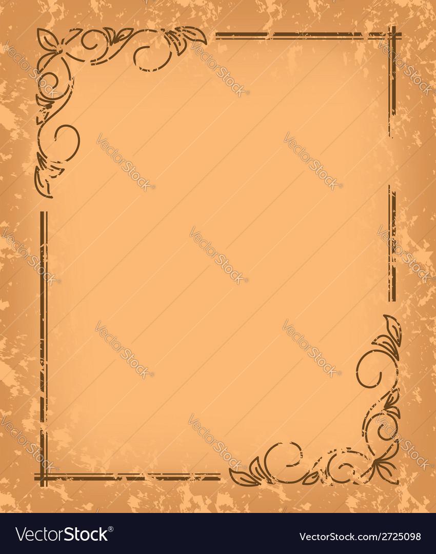 Old pattern - vintage background vector   Price: 1 Credit (USD $1)
