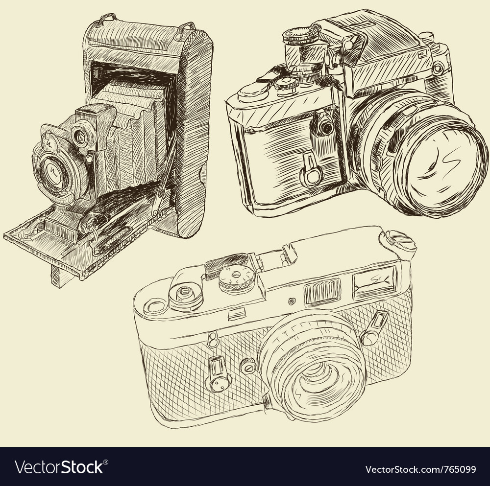 Cameras vector | Price: 3 Credit (USD $3)