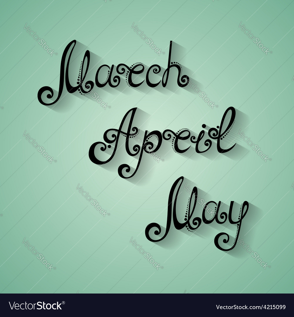 Fancy lettering design vector | Price: 1 Credit (USD $1)