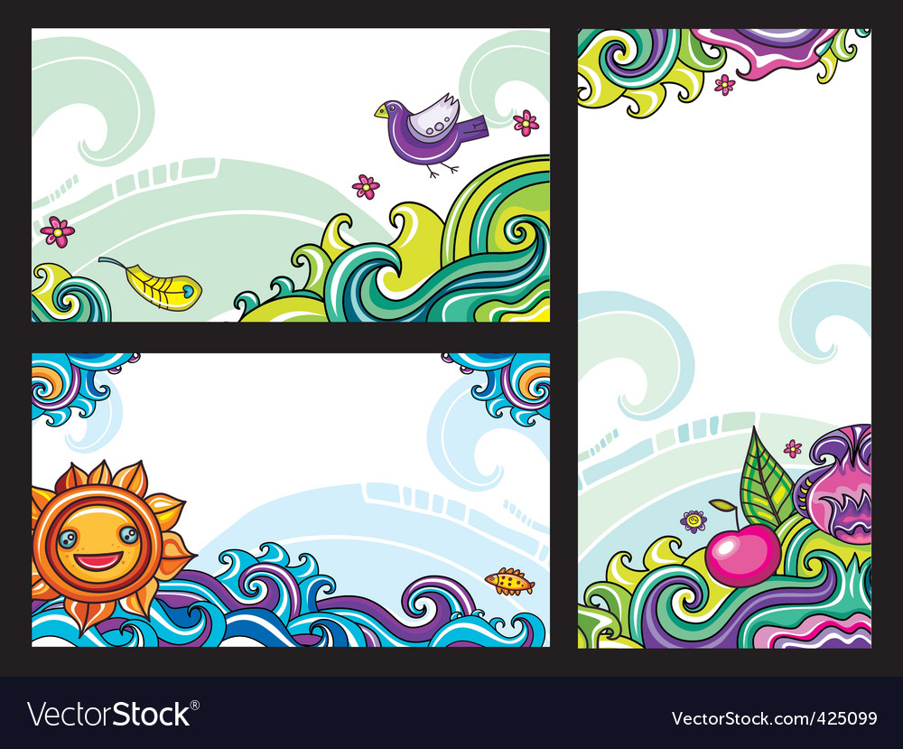 Floral banners vector   Price: 3 Credit (USD $3)