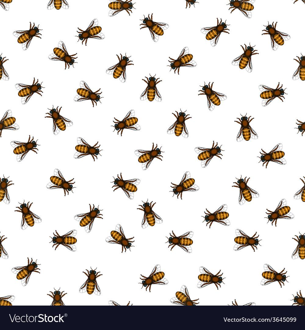Honeybee pattern vector   Price: 1 Credit (USD $1)