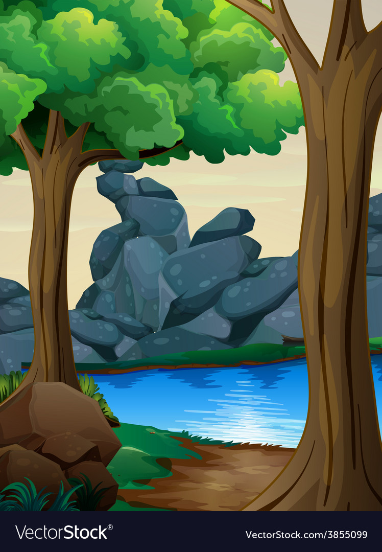 River vector | Price: 3 Credit (USD $3)