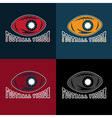 American football vision design template vector
