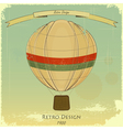 Vintage balloon vector