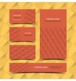 Construction business card set vector