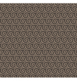 Rosy brown colors wave pattern vector